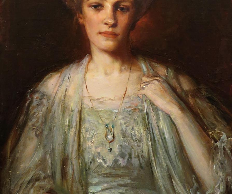 Laura Muntz Lyall Portait of Elsie Kemp (née Blackader), 1907 (circa)