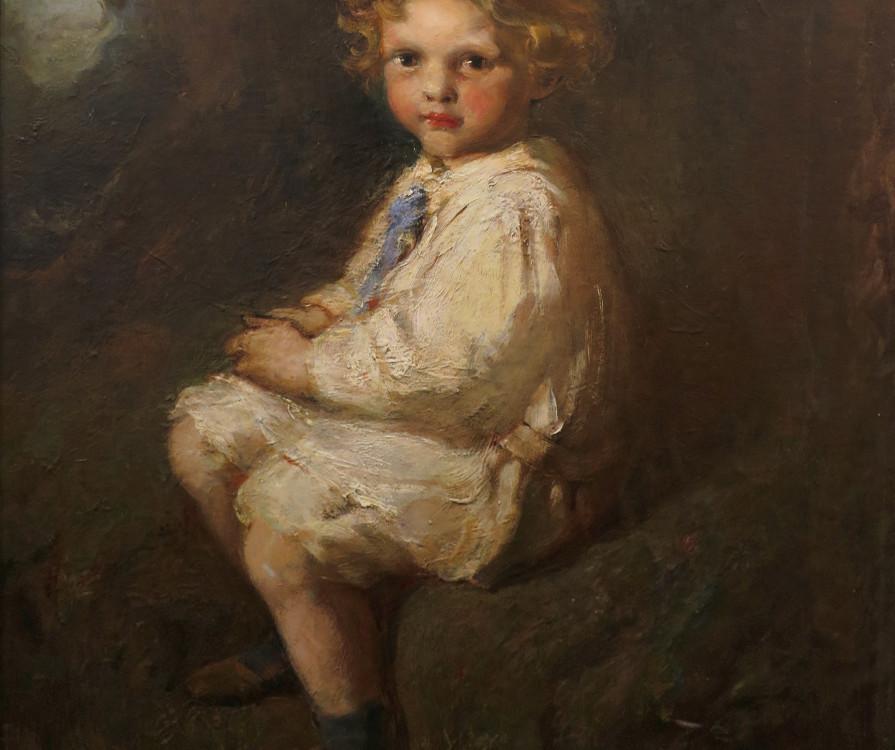 Laura Muntz Lyall Portrait of H. Stirling Maxwell, 1909