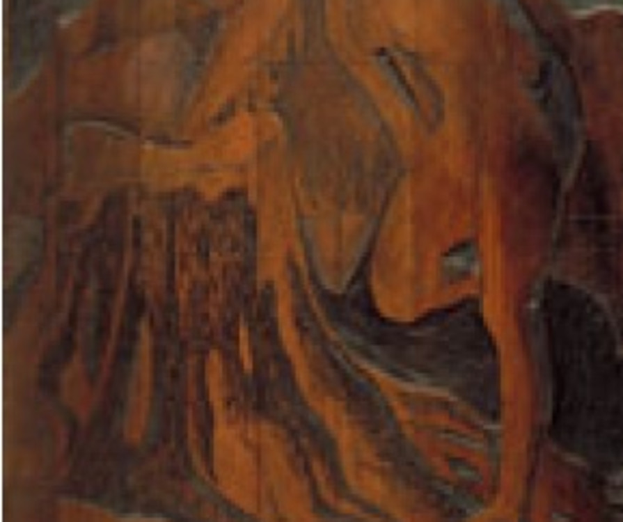 Fig. 4 Wood block for Nude by a Lake, Montreal Museum of Fine Arts, Inventory No. GR.1972.68b
