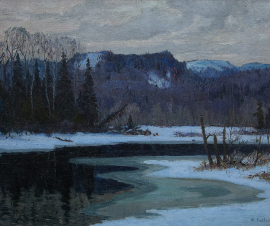 Copy of March Cachet River 25x32