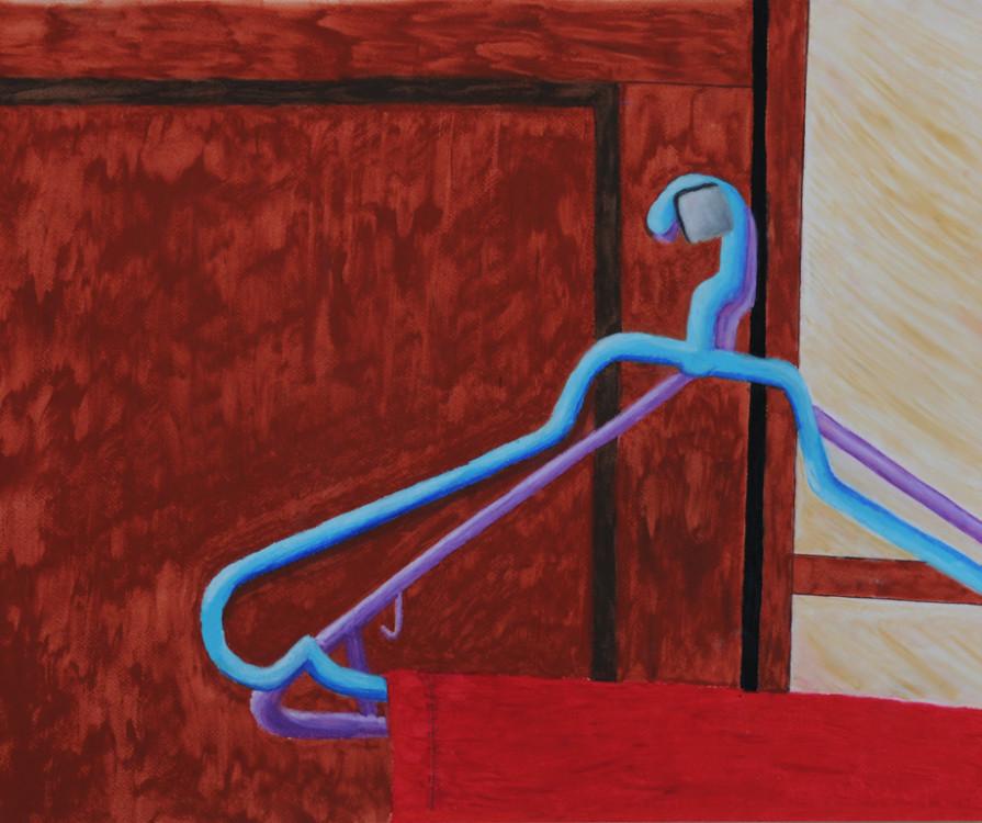 Patrick Yaremko, Hangers, mixed media