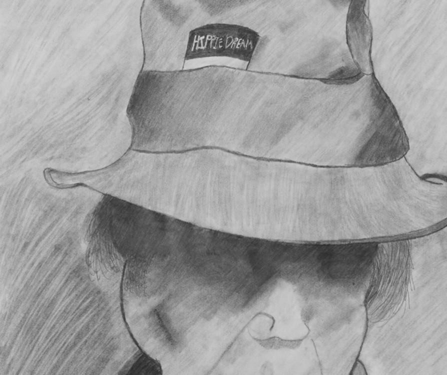 Evan Gardner, Neil Young, drawing