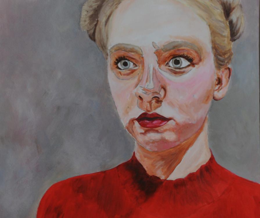 Danova Gardilcic, oils on paper, 16 x 21