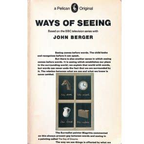 <p>Ways of Seeing, John Berger. Design by Richard Hollis. 1972</p>