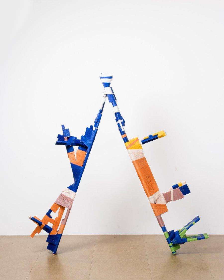 <p><strong>Anton Alvarez.</strong> The Thread Wrapping Machine series. 2013.</p>