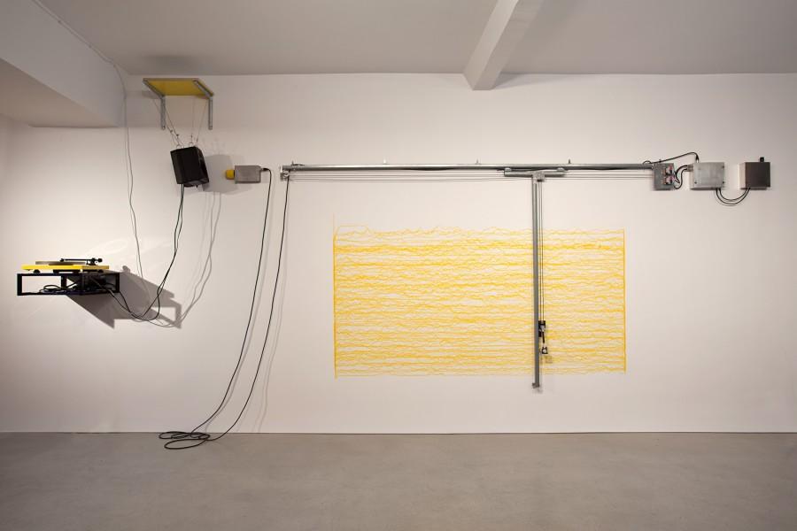 ABCDLP 002 – Short Big Drama by George van Dam for Short Big Yellow Drawing Machine by Angela Bulloch