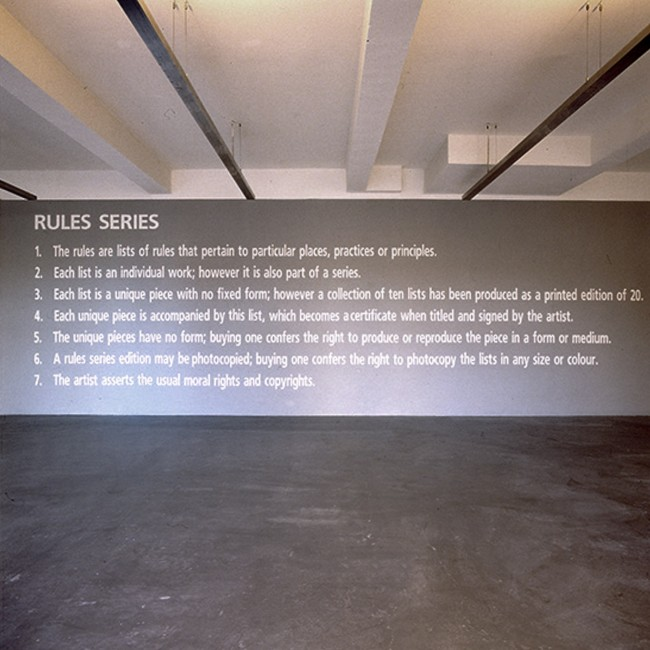 Rules Series