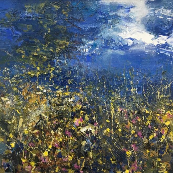 John Brenton,Summer flora  Sold