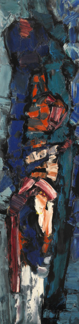 "<span class=""artist""><strong>Frank Avray Wilson</strong></span>, <span class=""title""><em>FAW807 - Arising</em>, 1957</span>"