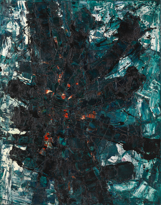 "<span class=""artist""><strong>Frank Avray Wilson</strong></span>, <span class=""title""><em>FAW772 - Myth Form</em>, 1959</span>"