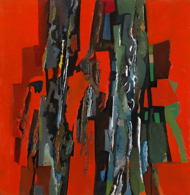 "<span class=""artist""><strong>Caziel</strong></span>, <span class=""title""><em>WC477 - Composition 1963.1</em>, 1963</span>"