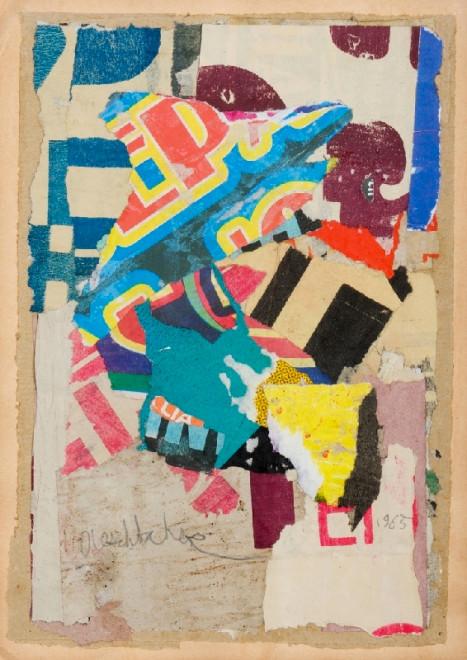 "<span class=""artist""><strong>Arthur Aeschbacher</strong></span>, <span class=""title""><em>Lyrisme lacéré</em>, 1965</span>"