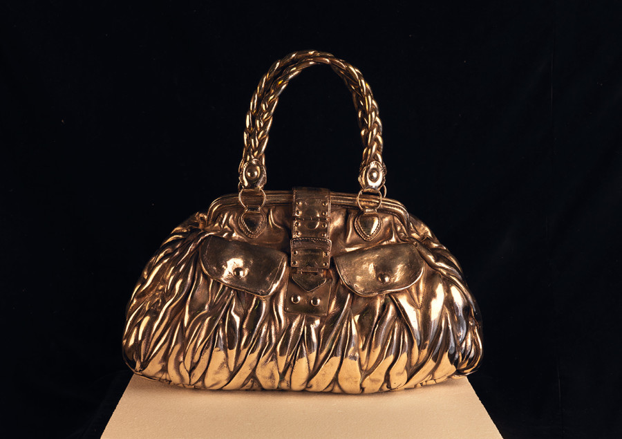 "<span class=""artist""><strong>Clive Barker</strong></span>, <span class=""title""><em>A Very Nice Bag</em>, 2017</span>"