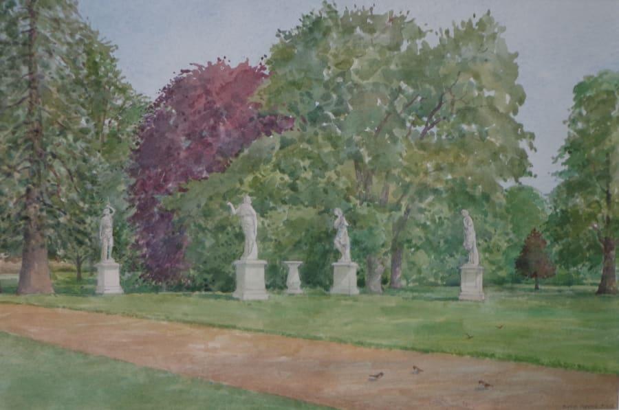 Towards the Statues, Wrest Park