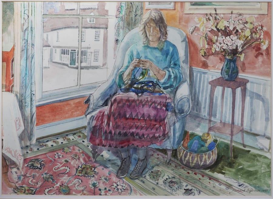 Knitting in Wivenhoe