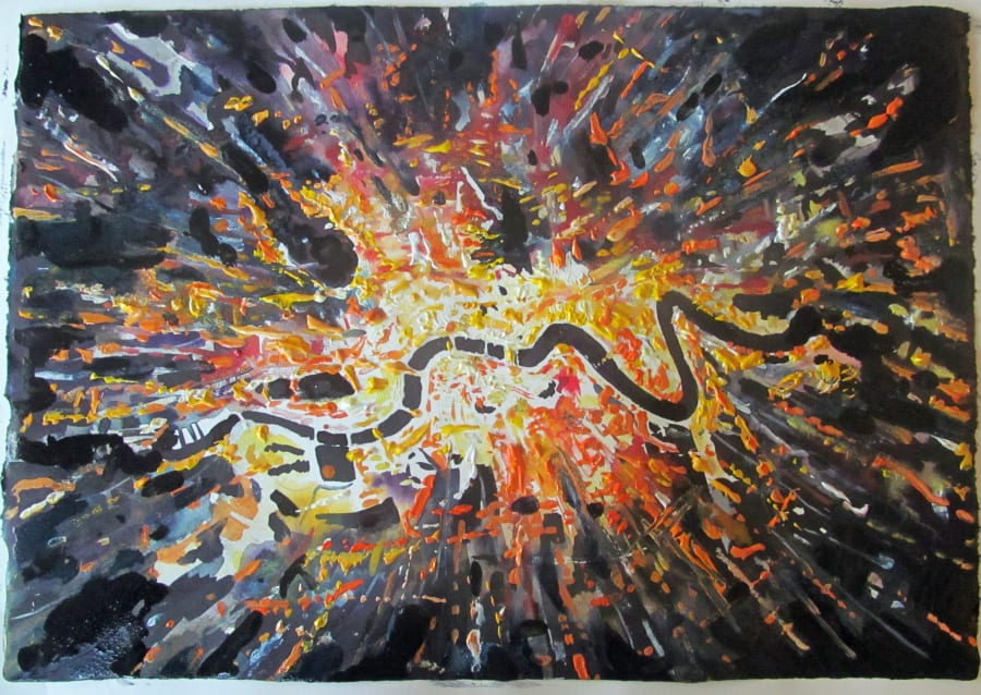London as a Satellite Image