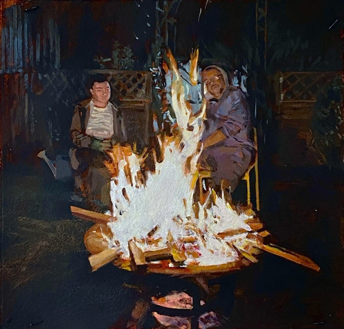 Lockdown Bonfire (23.4.20) V