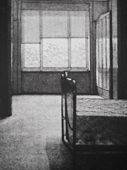 Interior of a Bedroom - Horta House