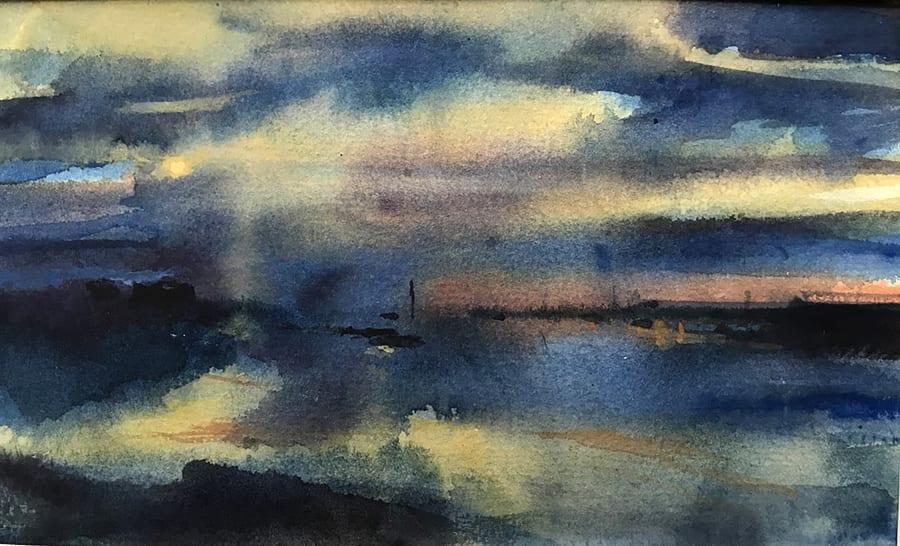 Evening Light on the Blyth River