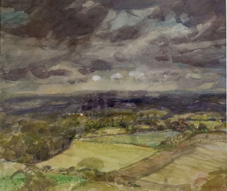 Storm Clouds over the Woodhays