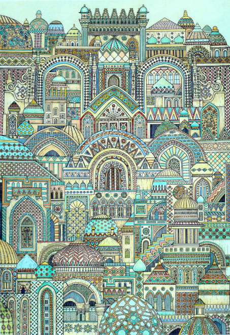 Multi Patterned City