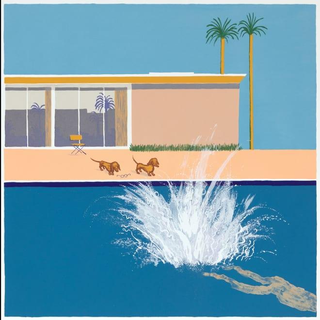 Hockney's Dog - The Biggest Splash