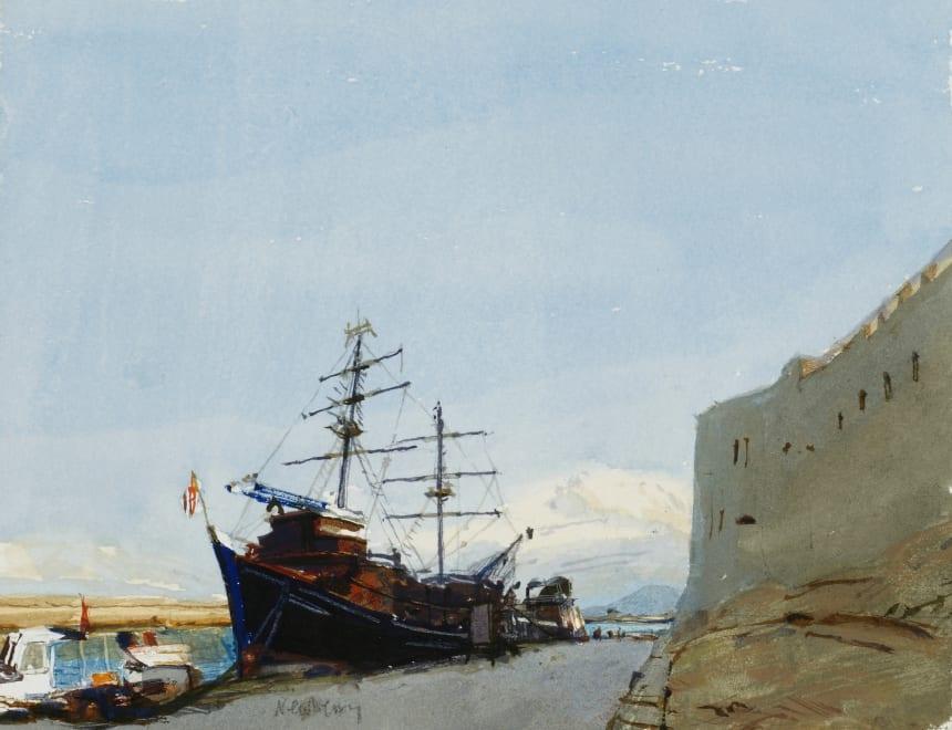 Ships in Kyrenia Harbour