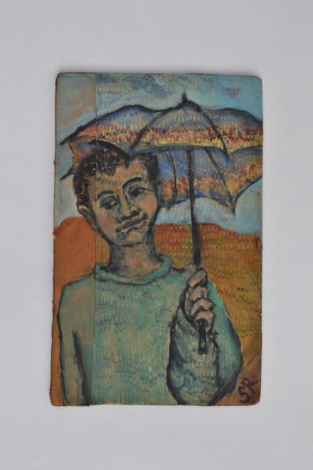 Kin Study - Child with Umbrella