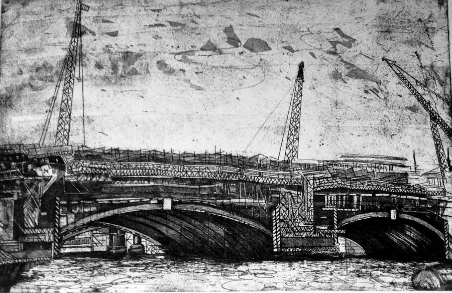 Blackfriars Bridge Two Arches