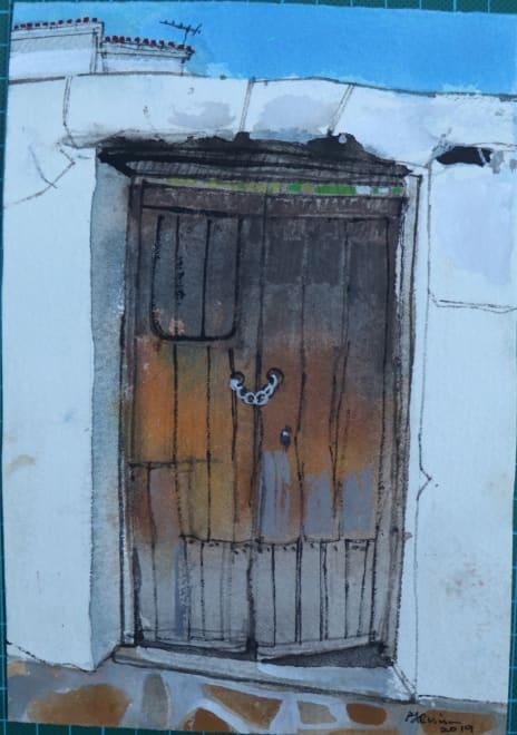 Chained Door, Gaucin, Andalucia