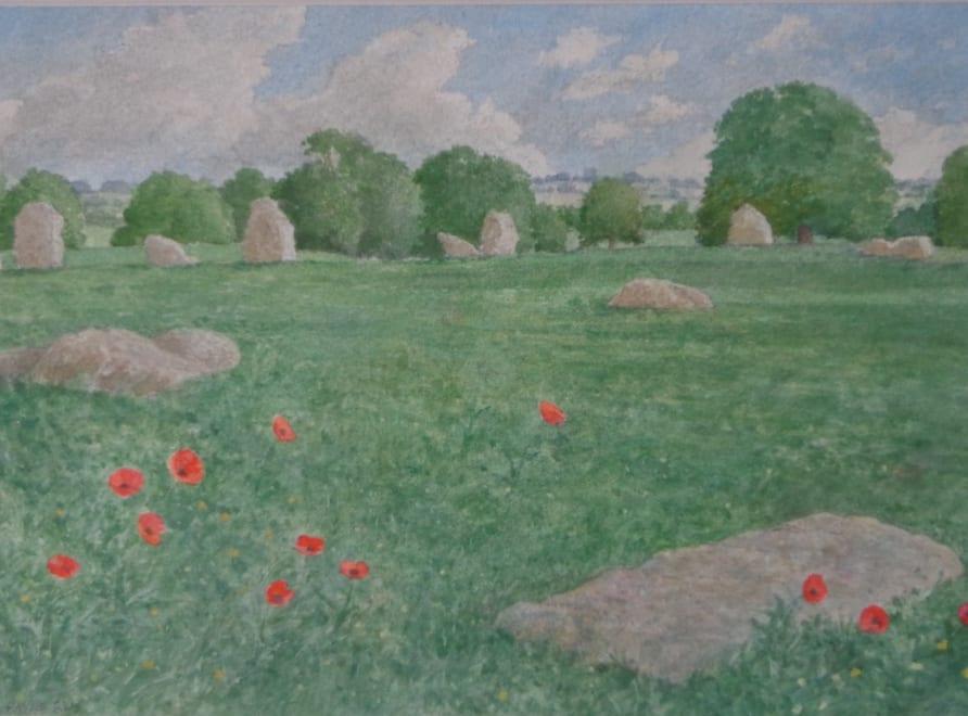 Poppies and Stones, Stanton Drew