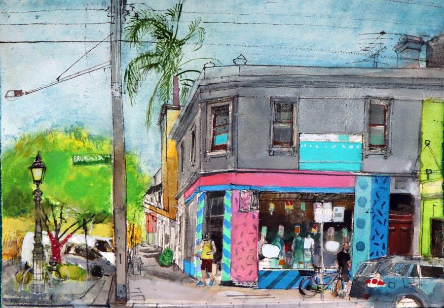 Melbourne, Brunswick Street
