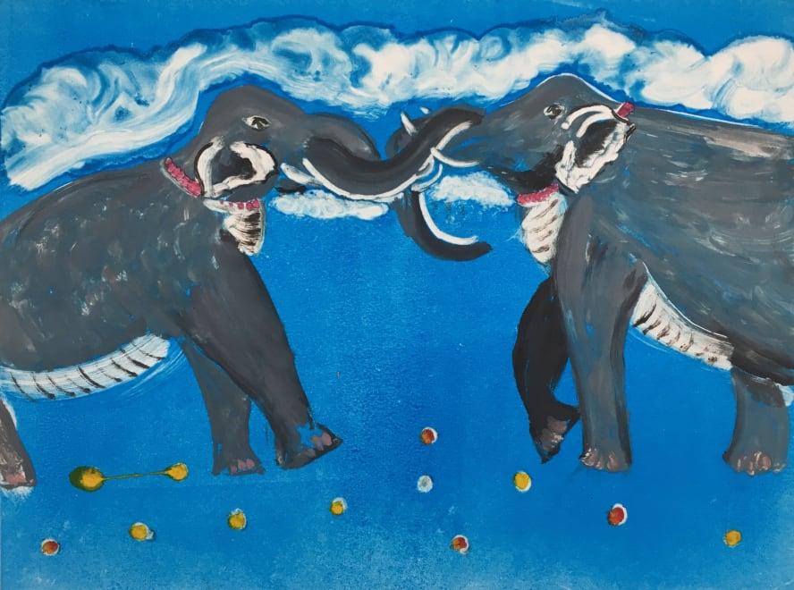 Angry Elephants