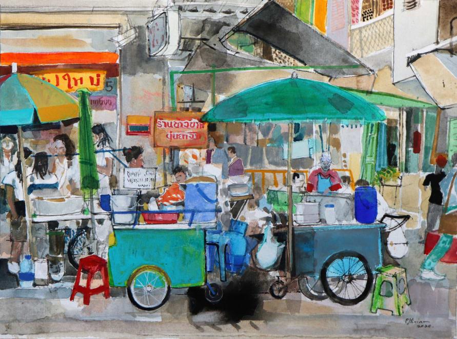 Bangkok Street Food, Memory