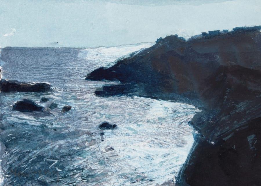 Sun Dazzle on Waves, La Palma