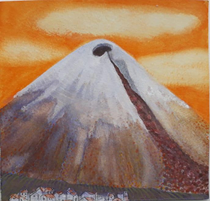 Cotopaxi from Humboldt's Avenue of Volcanoes III