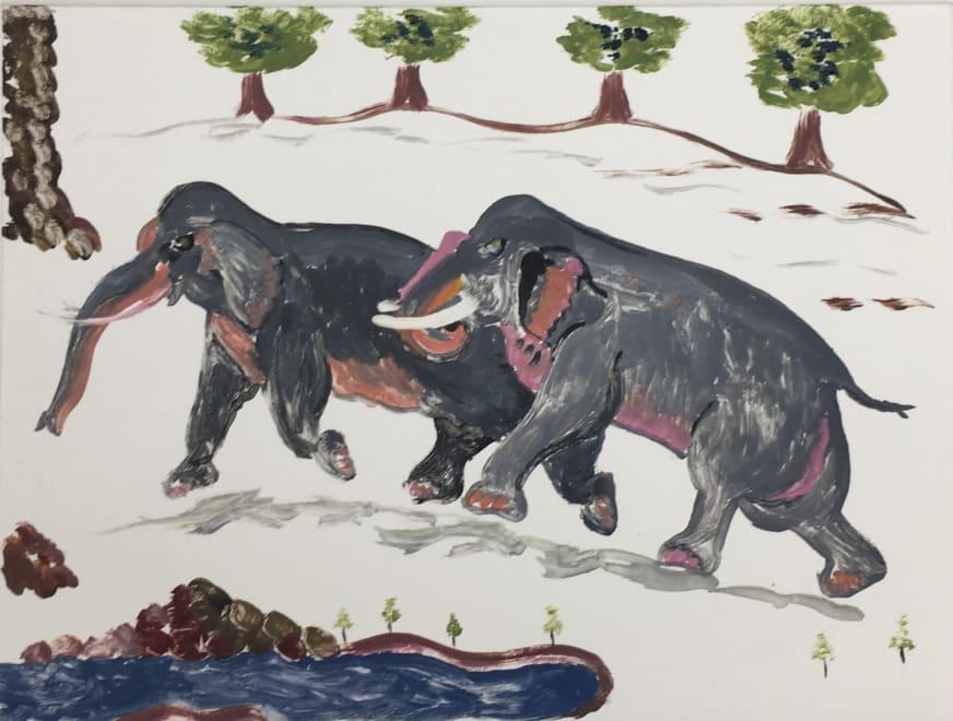Elephants on the Run