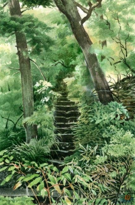 Garden at the Fujiya