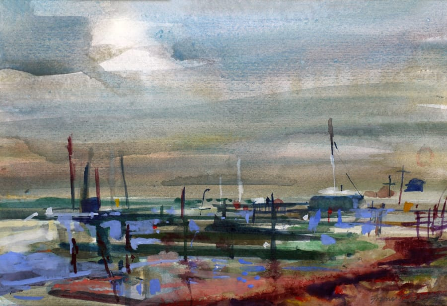 Jetties, Late Afternoon, Southwold