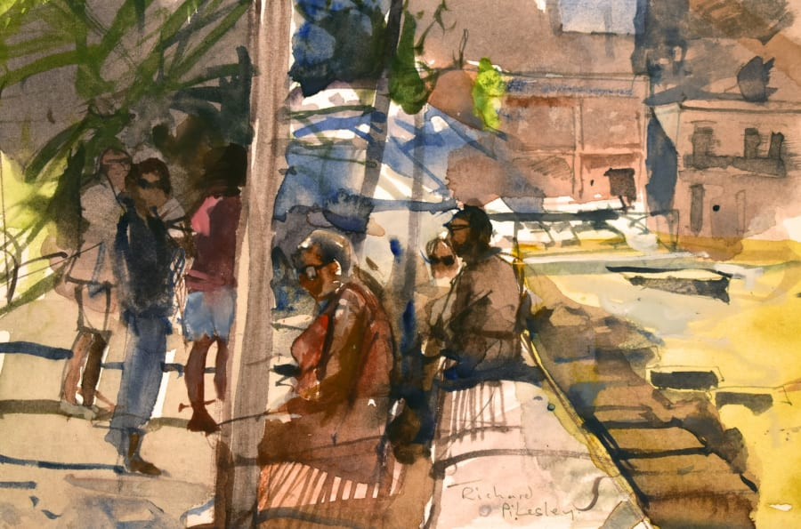 Waiting for the Bus, Ponza