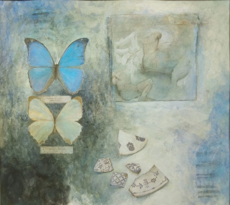 Butterflies with Fragments I