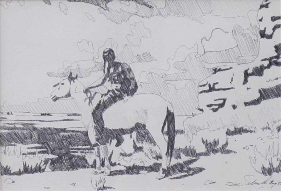 Horse and Rider Study