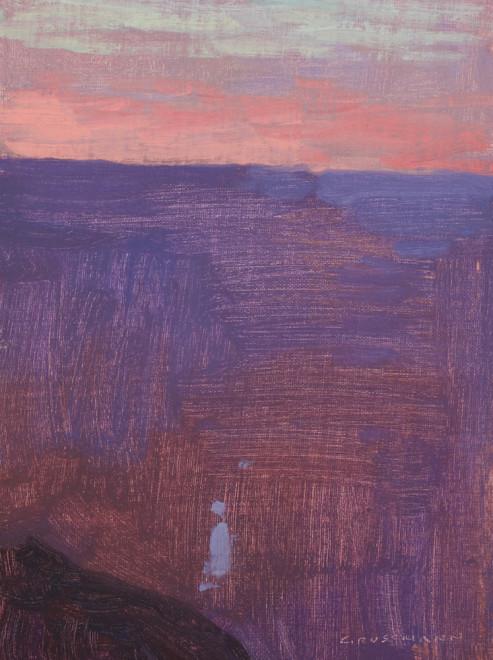 David Grossmann, Sunset Glow, Grand Canyon