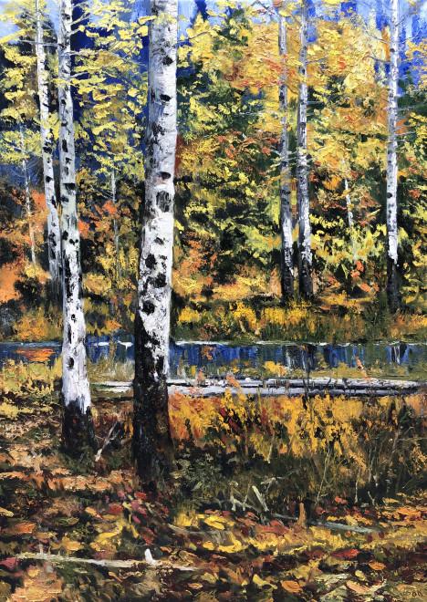 James Pringle Cook, Aspen Lake Study #1