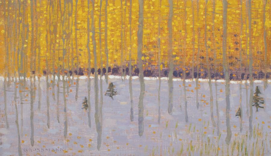 David Grossmann, Orange Leaves and First Snow