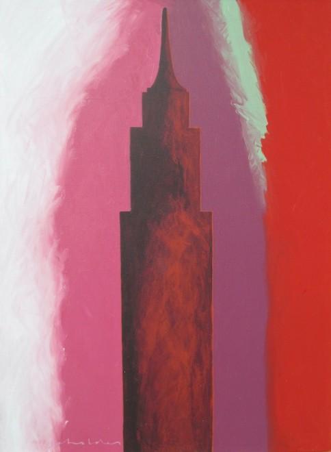 Fritz Scholder, NYC 2.22.82, 1982
