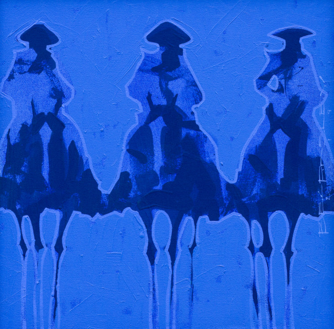 Duke Beardsley, Bocados: Azul