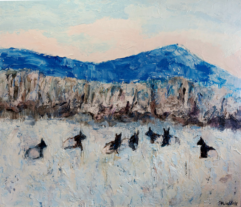 Theodore Waddell, Cottonwood Elk #5