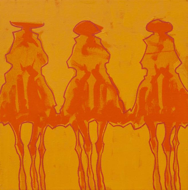 Duke Beardsley, Vaqueros Brillantes- Naranja