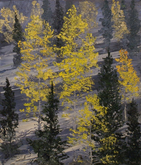 James Pringle Cook, Cloudcroft Autumn Snow #1